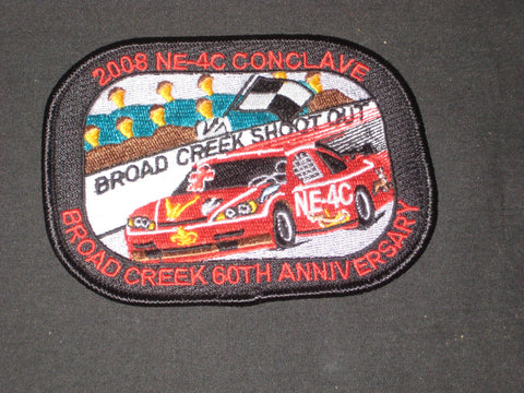 NE-4C 2008 Conclave Pocket Patch