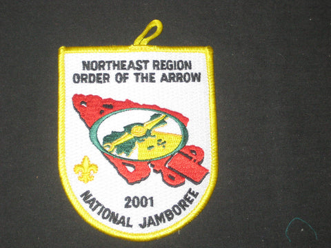 2001 National Jamboree Northeast Region Order of the Arrow Patch