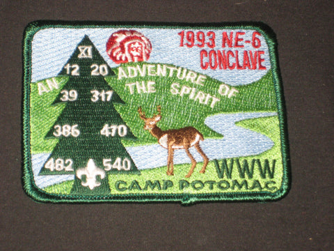 NE-6 Conclave Pocket Patch
