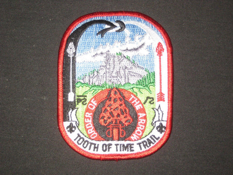 Philmont OA Tooth of the Time Trail Pocket Patch