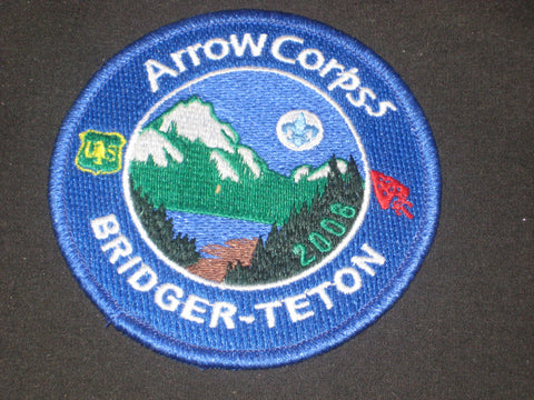 Arrow Corps5 Bridger-Teton 2008 Pocket Patch