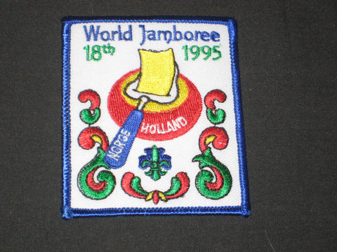 1995 World Jamboree Norway Contingent Patch