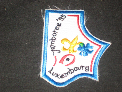 1995 World Jamboree Luxembourg Patch