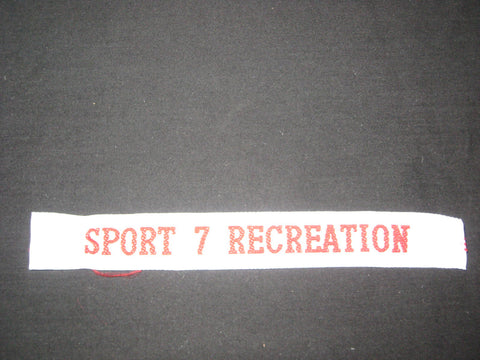 1995 World Jamboree Sport 7 Recreation Strip