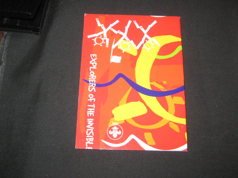 2003 World Jamboree Explorers of the Invisible Booklet