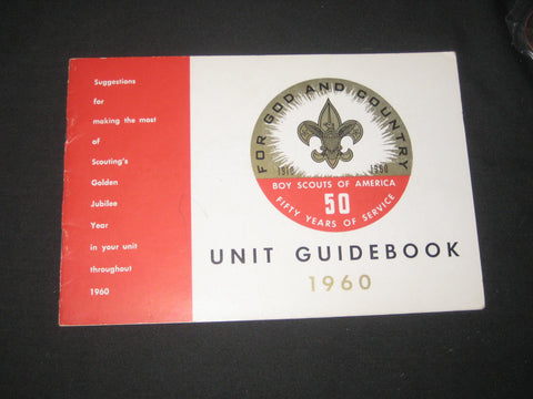 1960 BSA 50th Anniversary Unit Guidebook