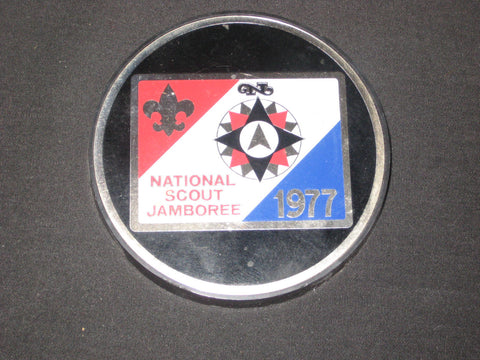 1977 National Jamboree Paperweight