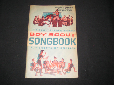 Boy Scout Songbook 1966 printing