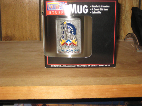 2003 World Jamboree Pewter Mug