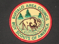 Buffalo Area Council round twill council Patch