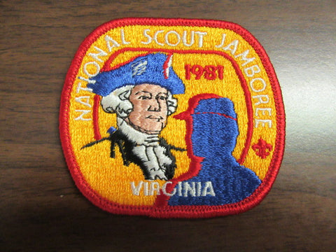 1981 National Jamboree Pocket Patch