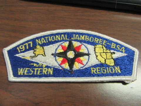 1977 National Jamboree Western Region 53 by 137 JSP