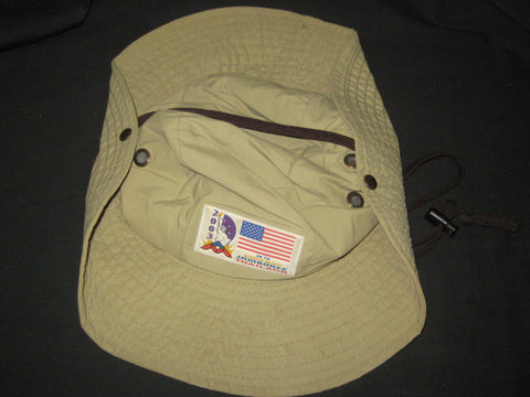 2003 World Jamboree US Contingent Floppy Hat, size large