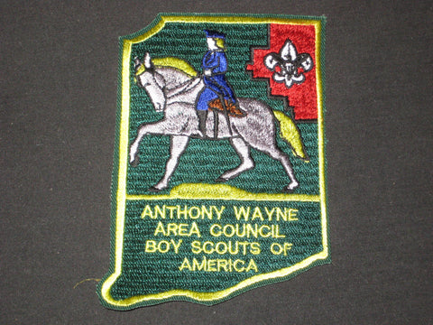 Anthony Wayne Area Council Indiana Shaped Patch
