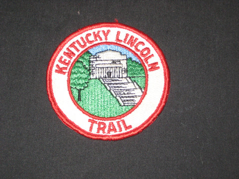 Kentucky Lincoln Trail Pocket patch