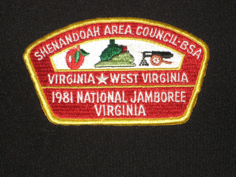 Shenandoah Area Council 1981 JSP