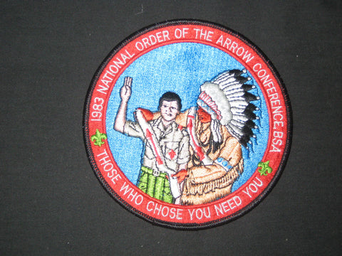 1983 NOAC jacket patch