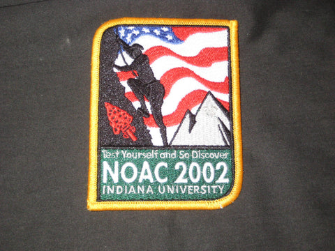 2002 NOAC multi colored pocket patch