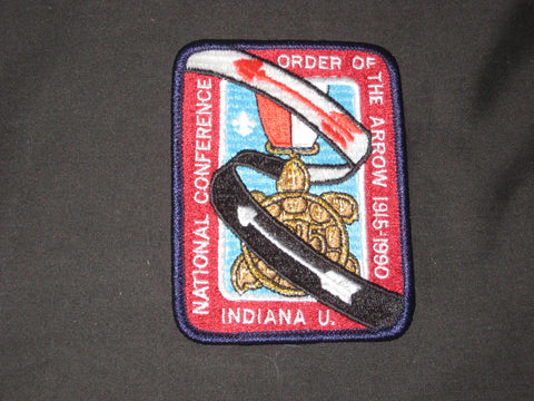 1990 NOAC pocket patch