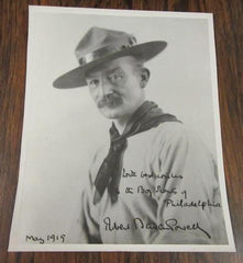 Baden-Powell May 1919 Photo, copy, Philadelphia Council