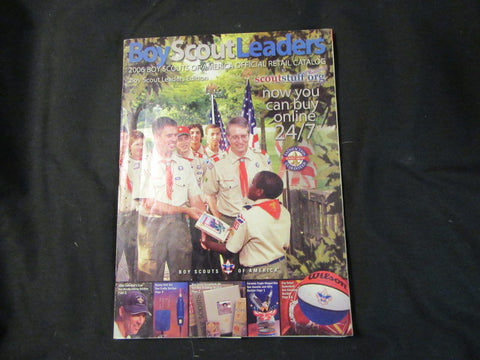 Boy Scout Leaders 2006 BSA Supply Group Catalog