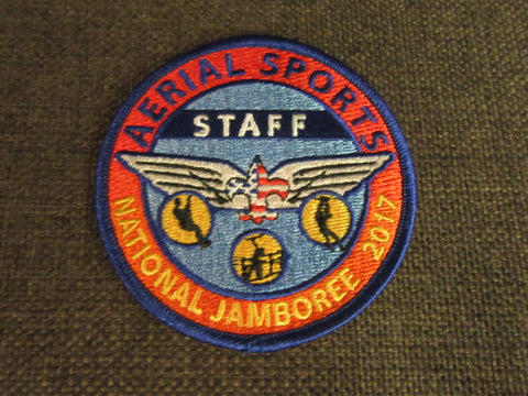 2017 National Jamboree Aerial Sports Staff Pocket Patch