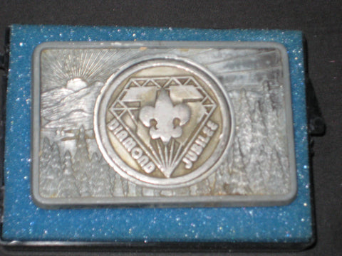 BSA 75th Anniversary Belt Buckle 1985