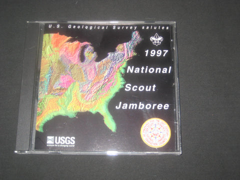 1997 National Jamboree US Geological Survery DVD
