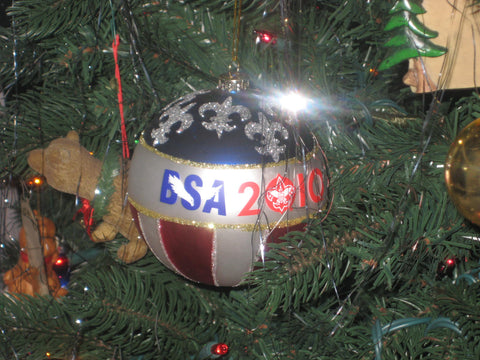 2010 Boy Scout 100th Anniversary Christmas Ornament