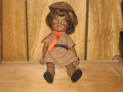 effanbee fluffy brownie doll - the carolina trader