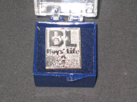 Boys' Life BL Pewter Lapel or Hat Pin