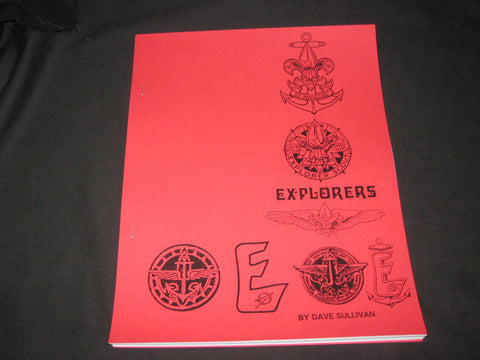 Explorers, Guide to Collecting Explorer, Sea & Air Scout Patches