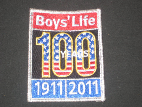 Boys' Life 100th Anniversary Patch