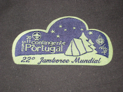 2011 World Jamboree Portugal Contingent Patch