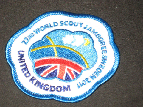 2011 World Jamboree United Kingdom Contingent Patch