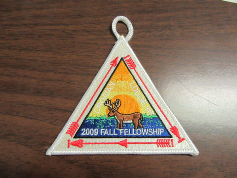 Croatan 117 2009 Fall Fellowship Patch