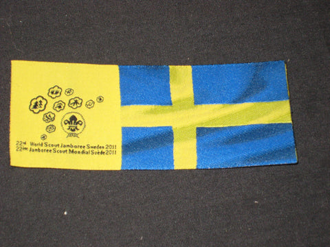 2011 World Jamboree Swedish Flag Patch