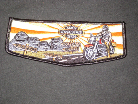 2004 NOAC Motorcyclist Spoof Patch