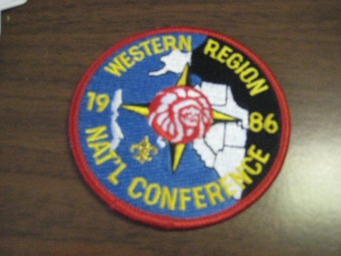 1986 Western Region pocket patch