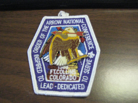1988 NOAC pocket patch with eagle pin
