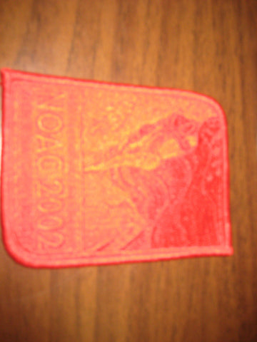 2002 NOAC Red Ghost Pocket Patch