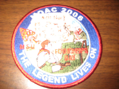 2006 NOAC Founder's Day pocket patch