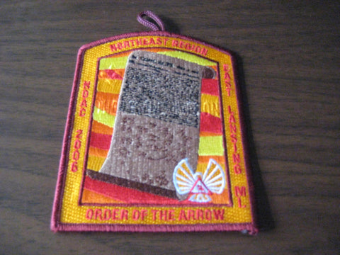 2006 NOAC Northeast Region Patch