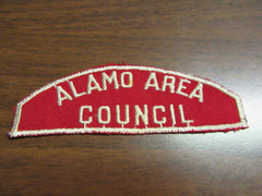 R&Ws, B&Ws, Council, District, and Hat Shaped Patches