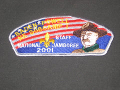 2001 National Jamboree Baden-Powell NE Subcamp Staff JSP