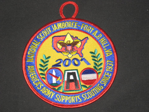 2001 National Jamboree US Army Patch