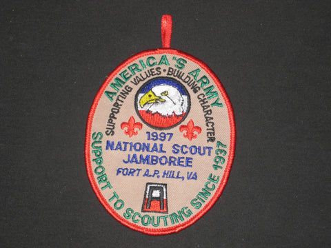 1997 National Jamboree US Army Patch