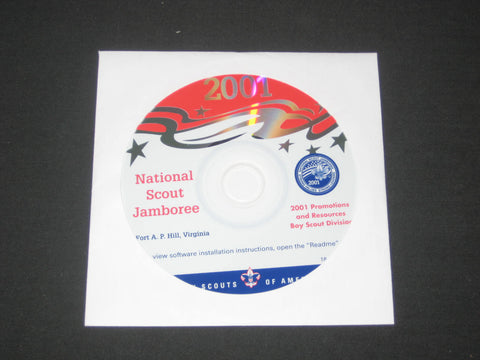 2001 National Jamboree Promotional CD