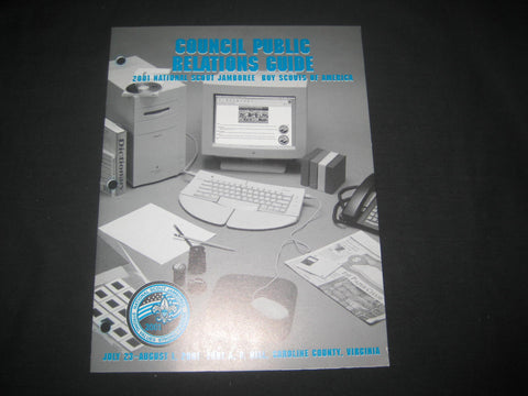 2001 National Jamboree Council Public Relations Guide
