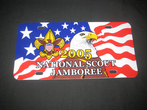 2005 National Jamboree Vehicle License Plate